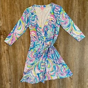 Lilly Pulitzer Guilty Pleasure - Emilia Wrap Dress